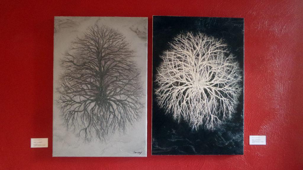 Bäume -Landschaft II und I (c) Suat Sensoy