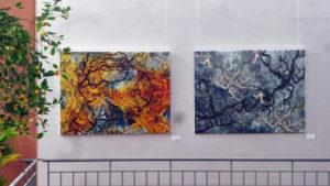 Suat Sensoy Kunstausstellung Lichtblicke