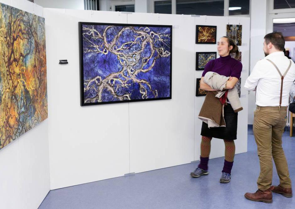 Suat Sensoy Kunstsalon Freiburg Bäume -ZNS V