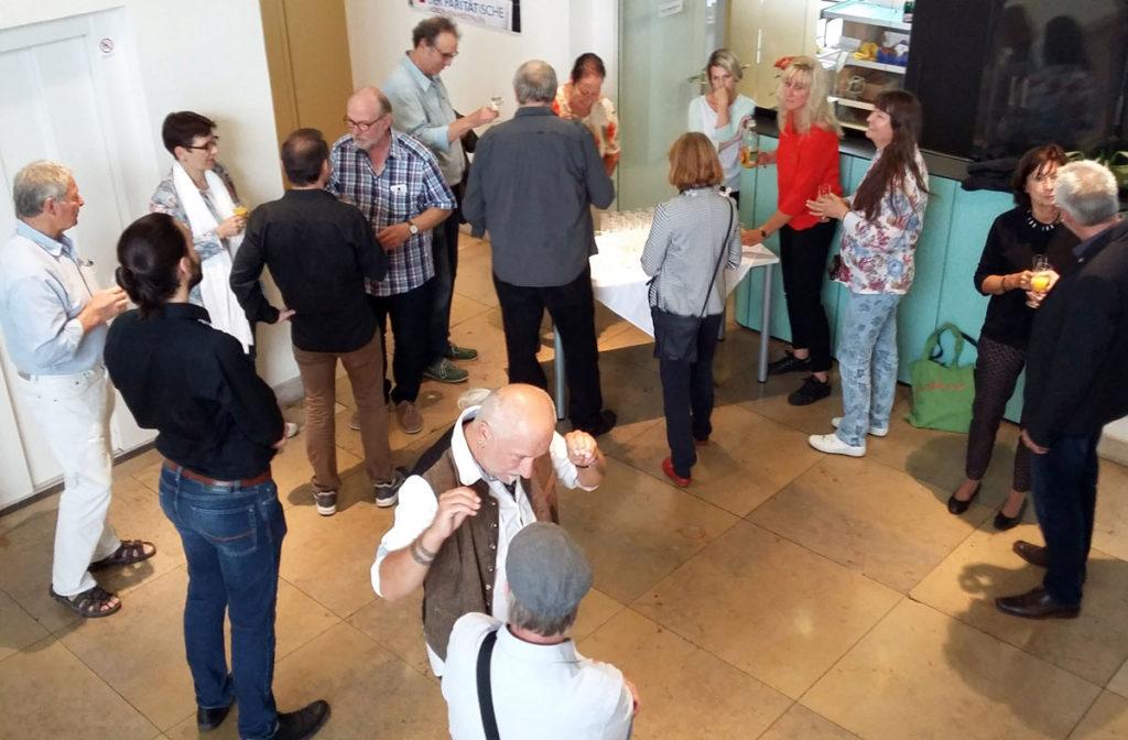 Suat Sensoy. Vernissage in der Paritätischen Wuppertal 2018