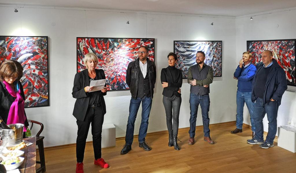 Update Gallery. Vernissage Art Ttransfer Bonn - Chengdu, China. Suat Sensoy